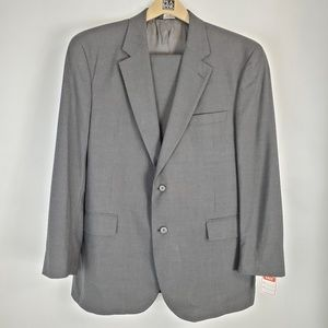 JOS A BANK gray dress suit( pants & blazer coat)